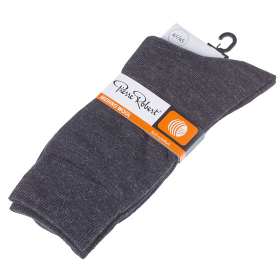 Merinovillasukat, grey, hi-res