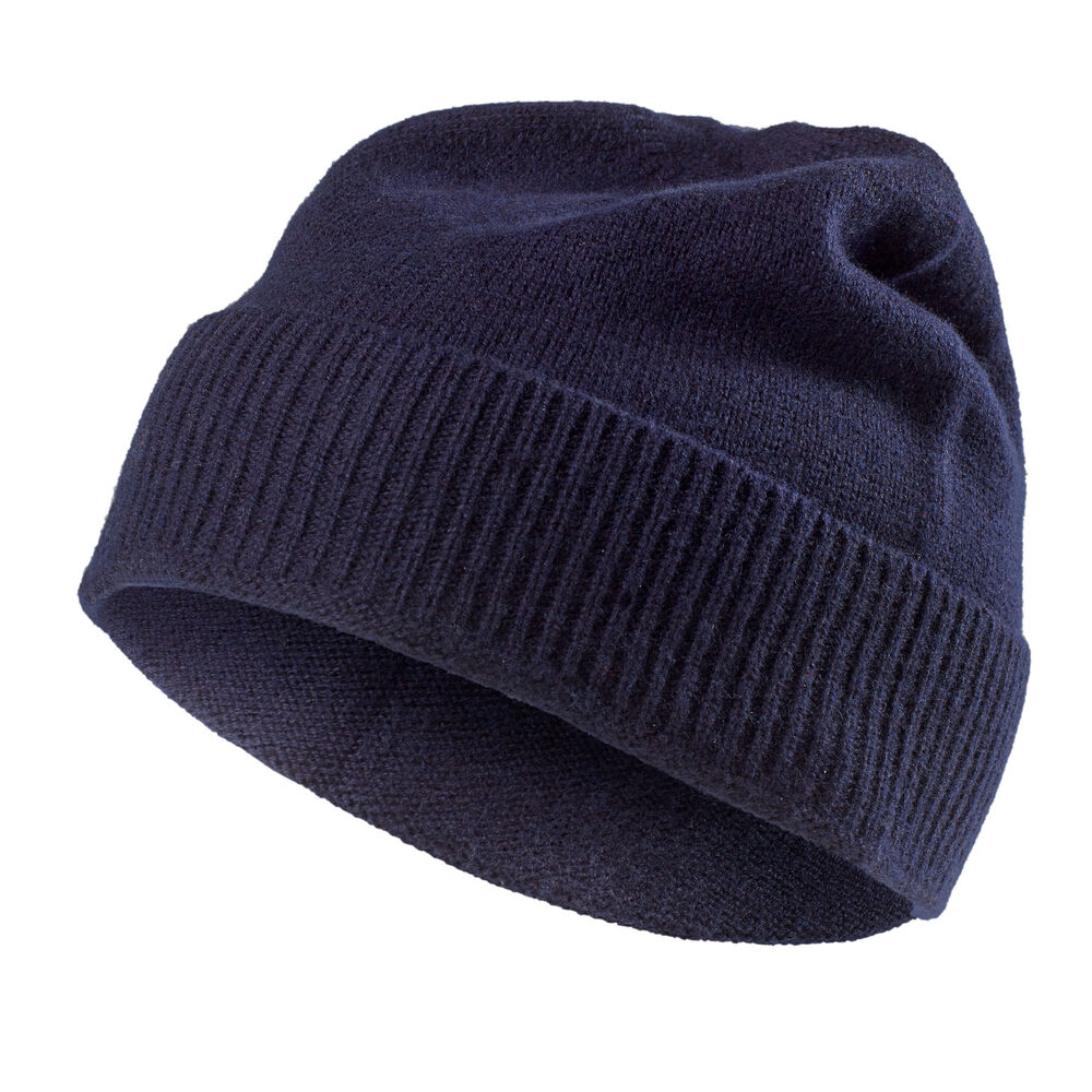 eb1cc6f4f83 WOOL COLLECTION BEANIE Navy 2-17