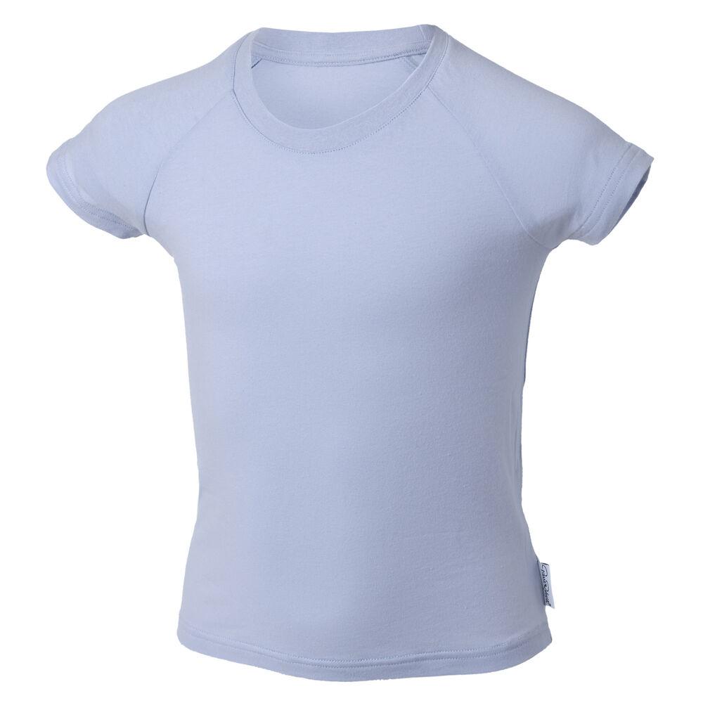 Luomupuuvilla T-paita 3-8 vuotiaille (GOTS), light blue, hi-res