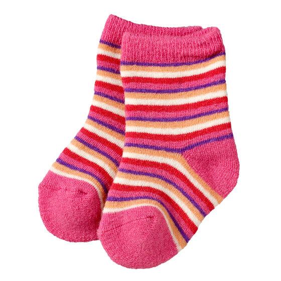 ULLSOKKER BABY 2-PAK, pink-lilac, hi-res