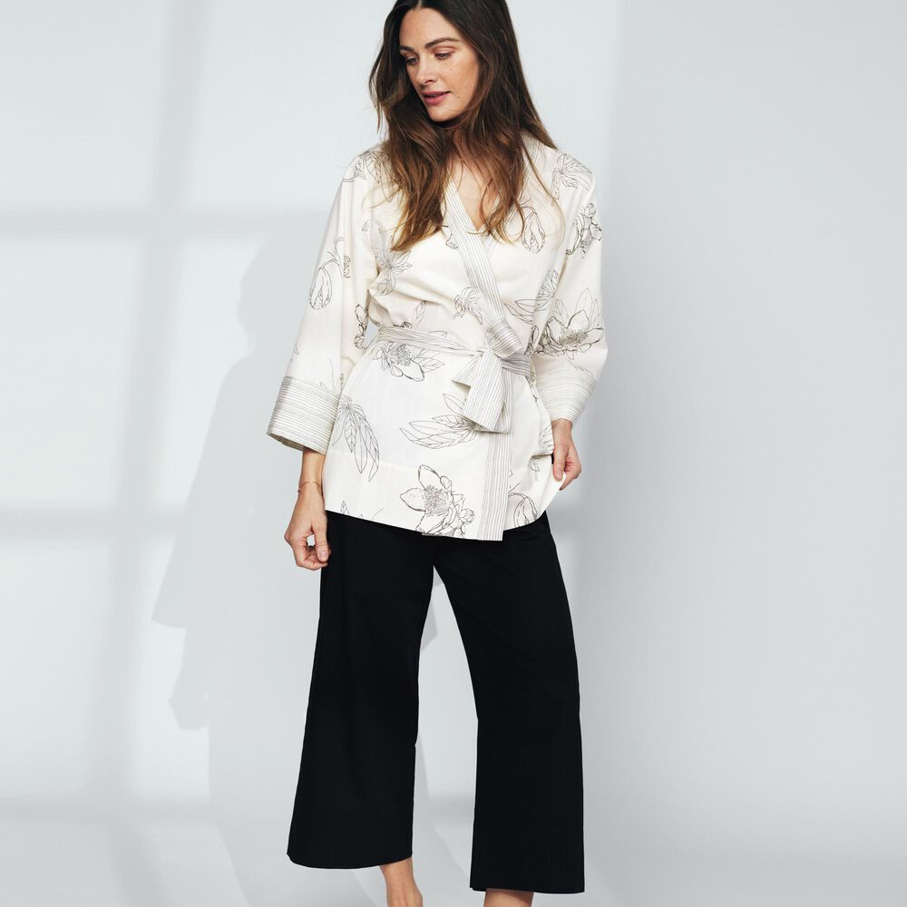 Loungewear byxor Jenny Skavlan, charcoal, hi-res