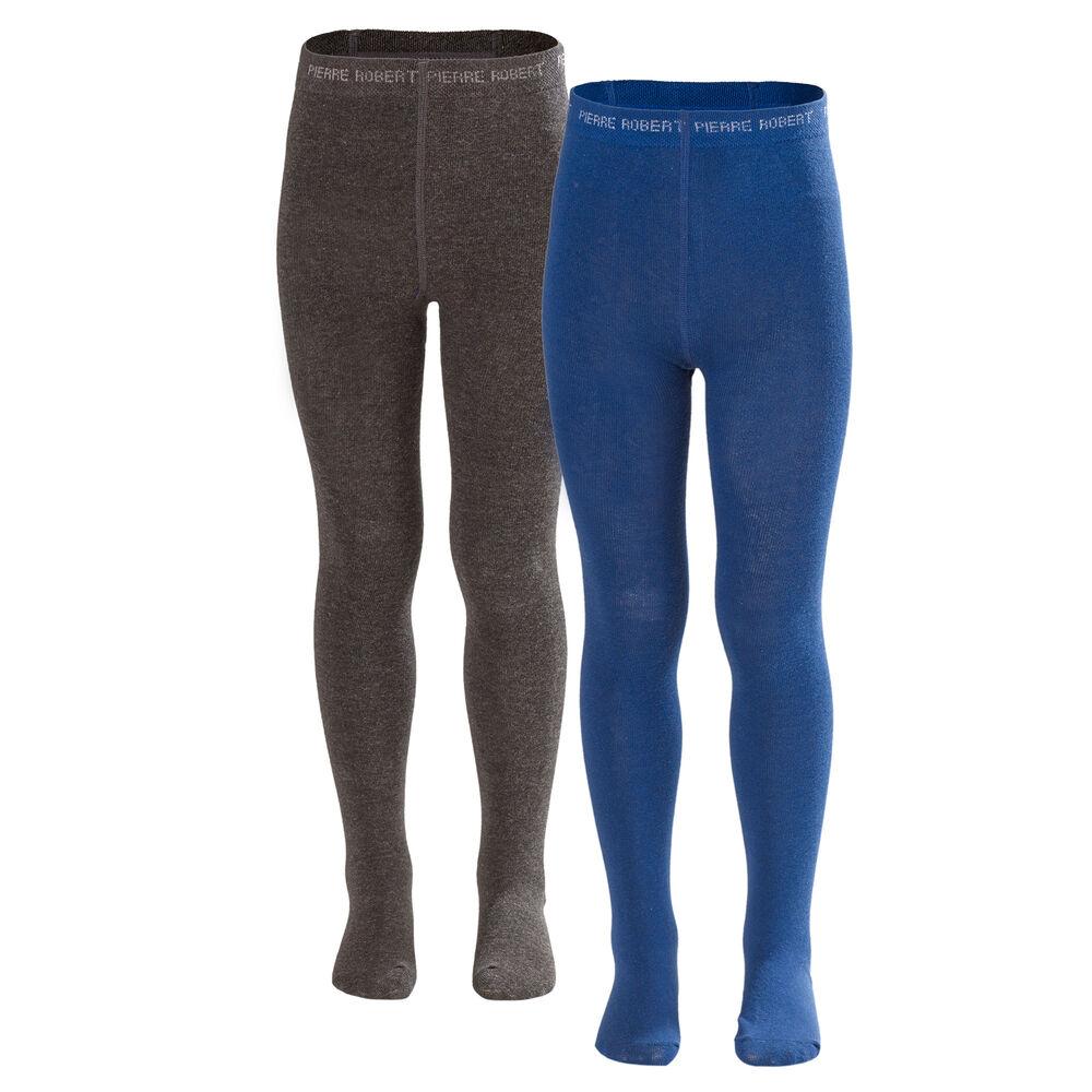 Sukkahousut 2-pack, dark blue and dark grey, hi-res